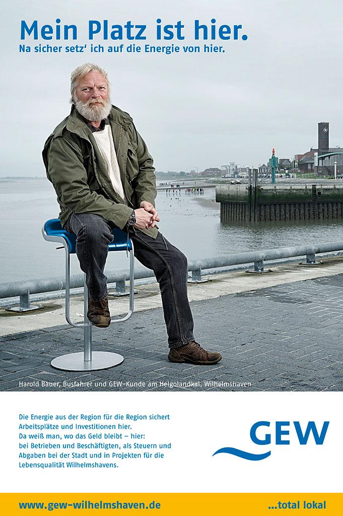 Kampagnenfotografie GEW Anzeigenfotografie Werbefotografie Oldenburg Bremen Osnabrück